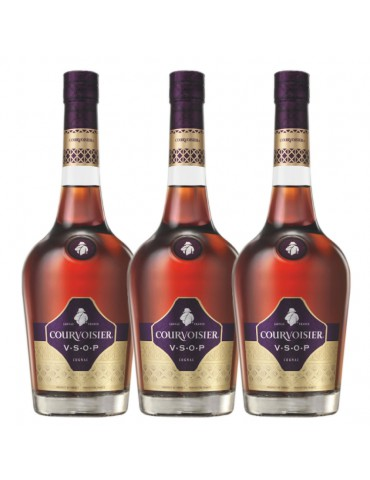 (CNY BUNDLE OF 3) COURVOISIER VSOP