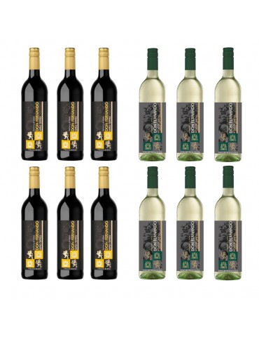 (CNY BUNDLE OF 12) DON FERNANDO WINES RANGES