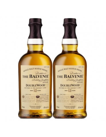 THE BALVENIE DOUBLEWOOD 12 YEARS (2 Bottles)