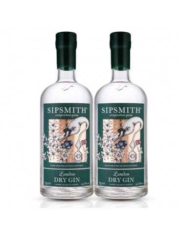 SIPSMITH LONDON DRY GIN (2 BOTTLES)