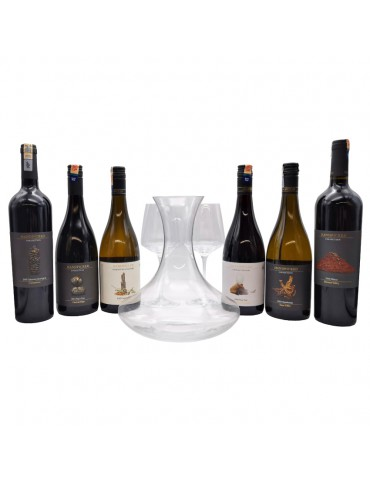 (FREE ARIA CRYSTAL DECANTER + WINES GLASS) HANDPICKED COLLECTION