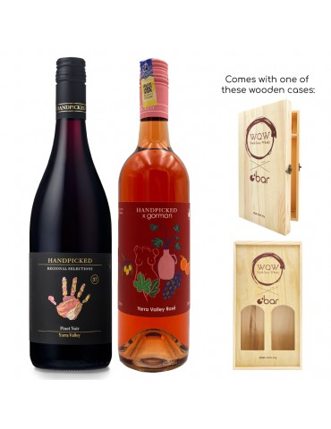 (VALENTINE'S DAY SPECIAL) HANDPICKED PINOT NOIR & GORMAN EDITION ROSE