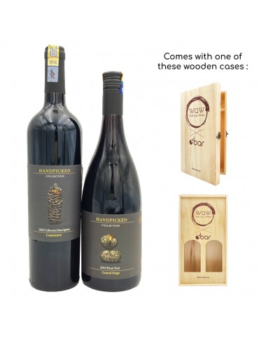 (PREMIUM CNY GIFT PACK) HANDPICKED COLLECTION CABERNET SAUVIGNON & PINOT NOIR