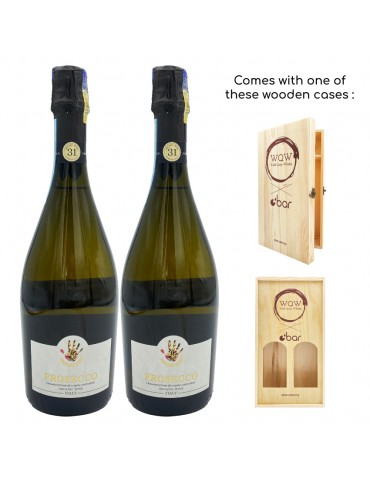 (PREMIUM CNY GIFT PACK) HANDPICKED REGIONAL SELECTION PROSECCO