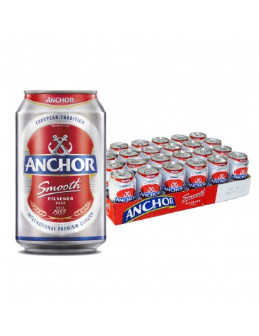 ANCHOR BEER 320ml 24 CAN PACK