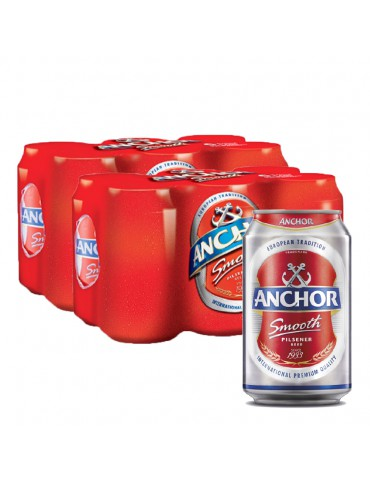 ANCHOR BEER 320ml 2x6 CAN PACK