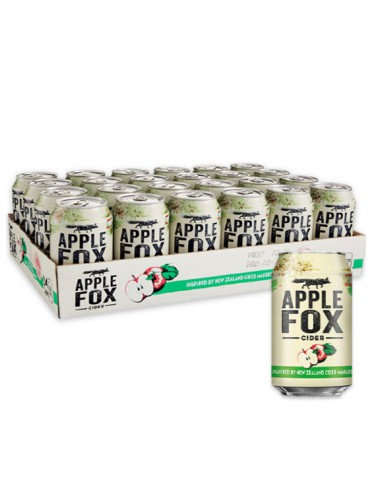 APPLE FOX 320ml 24 CAN PACK