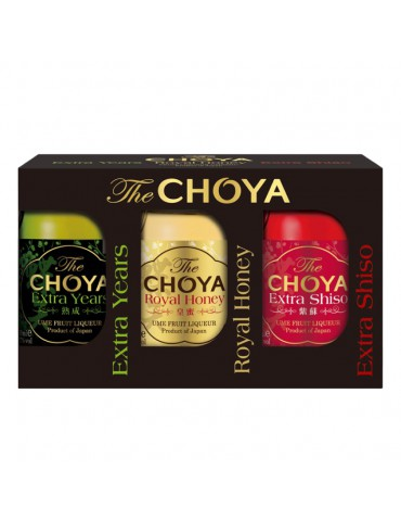 3 X 5CL CHOYA EXTRA SERIES SET