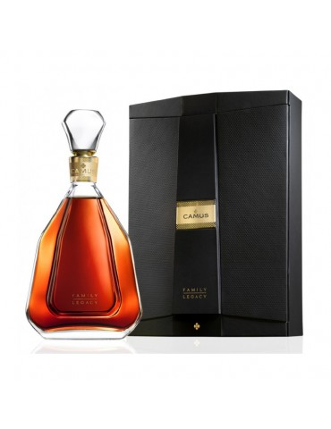 CAMUS COGNAC FAMILY LEGACY WOODEN BOX