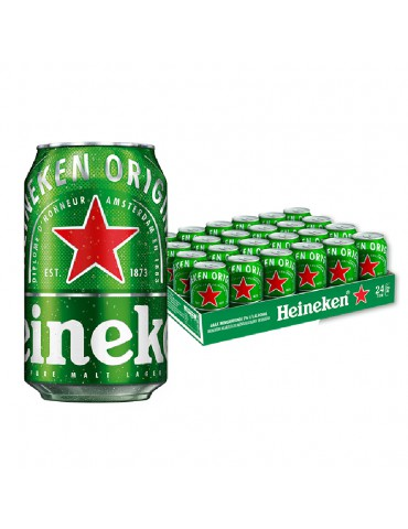 HEINEKEN BEER 320ml 24 CAN PACK