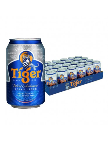 TIGER BEER 320ml 24 CAN PACK