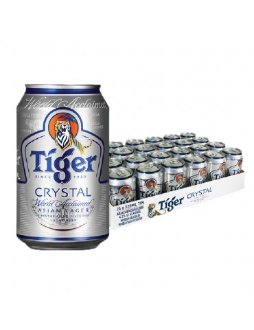 TIGER CRYSTAL 320ml 24 CAN PACK